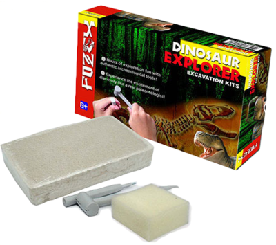 Dinosaur Exploration Excavation Kit, Dragonflytoys