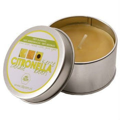 Dipam Beeswax Citronell Candle In Tin