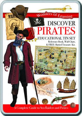 Discover Pirates Educational Tin Set