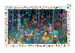 Enchanted Forest Puzzle Djeco 100 Pieces