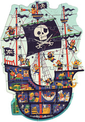Djeco Giant Pirate Ship Puzzle 36 Pieces