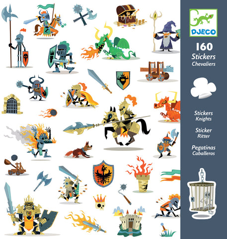 Djeco Knights Stickers