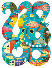Djeco Puzzle Octopus Puzzle (350 Pieces)