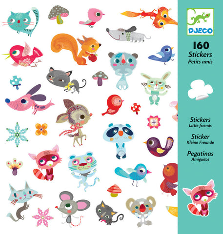 Djeco Small Friends Stickers