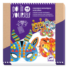 Do it Yourself Jungle Animal Mask Kit by Djeco