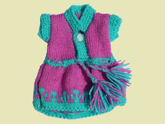 Large Doll Knitted Dress