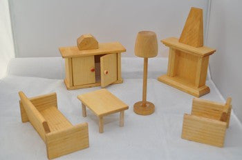 Dolls House Furniture - Lounge Room by Drei Blatter