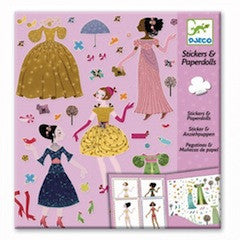 Dresses Through the Seasons Sticker Book