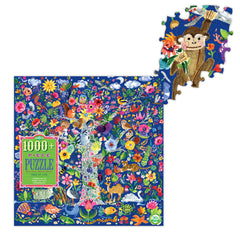 1008 Piece Tree of Life Puzzle by Eeboo, Dragonflytoys
