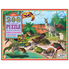Wildlife of Australia Puzzle 208 Pieces