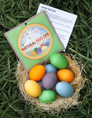 Natural egg dye kit for easter, Dragonflytoys