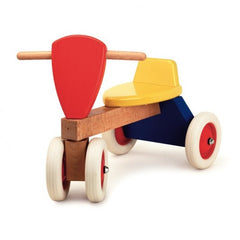 Trike Wooden Sit and Ride by Egmont