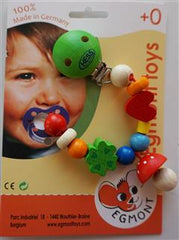 Pacifier Holder Mushroom by Egmont