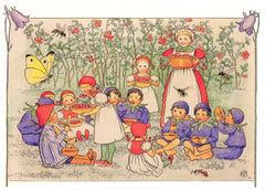 A Very Berry Party by Elsa Beskow Postcard