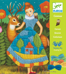 Djeco Canvas Embroidery