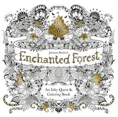 Enchanted Forest - An Inky Treasure Hunt and Colouring Book