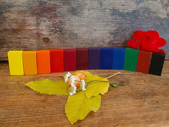 Filana natural beeswax block crayons