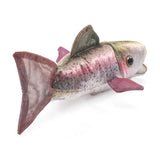 Mini Rainbow Trout Finger Puppets by Folkmanis, Dragonfly Toys