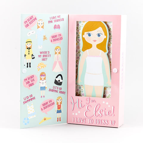Wooden Magnetic Dress up - Elsie