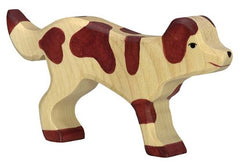 Wooden Farm Dog Holztiger