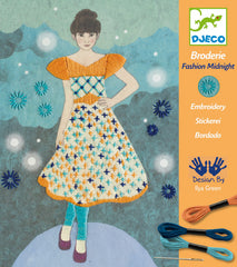 Djeco Midnight Magic Broderie Craft Kit