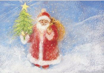 Father Christmas Postcard
