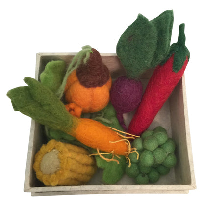 Felt Food Veggies