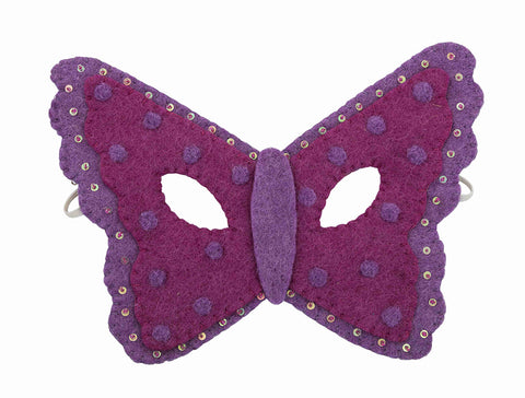 Felt Mask Butterfly, dragonflytoys