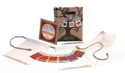 Earth Flags Natural Bunting Craft Kit