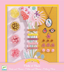 Beads and Flowers Jewellery Making Kit by Djeco