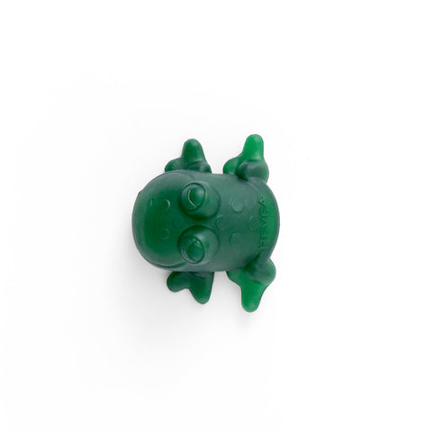 Hevea Fred Green Frog Bath Toy - Natural Rubber