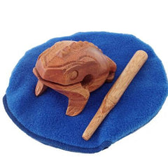 Frog Scraper Instrument with Pond Pouch