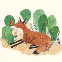 Greeting Card - Gabrielle Wang - Fox