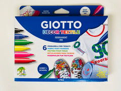 Giotto Decor Textile Pens, Dragonfly Toys, Mercurius