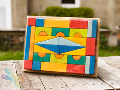 Tuscan Block Puzzle Large by Gluckskafer 36 parts