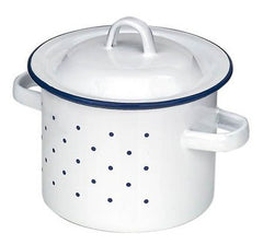 Enamel Pot High 10 cm Gluckskafer
