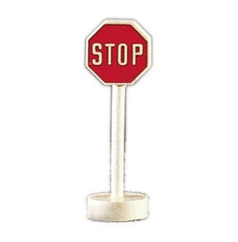 Gluckskafer Wooden Stop Sign