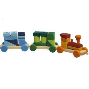 Gluckskafer Wooden Training Set With Stacking Blocks