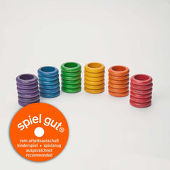 Grapat 36 Ring in 6 Colours, Dragonflytoys
