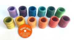 Grapat 72 Rings in 12 Colours Dragonflytoys