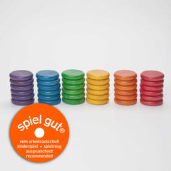 Grapat Coloured Coins (36 in 6 Colours), Dragonflytoys