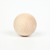 Natural Wooden Balls by Grapat  (set of 6)