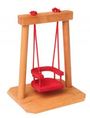 Grimm's Doll House Wooden Swing