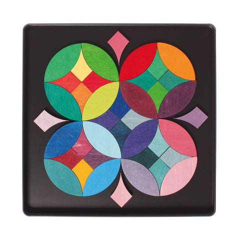 Mini Magnet Puzzle Grimms -Circle(40 Pieces) Dragonflytoys