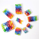 Grimms Rainbow Wooden Beads 20mm x 60 Beads,Dragonflytoys
