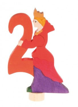 Grimms Birthday Advent Decoration Handpainted Figure Number 2