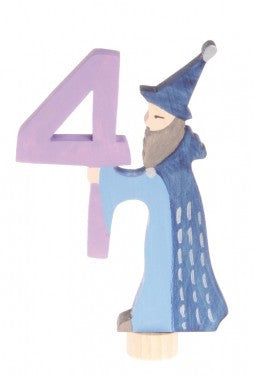 Grimms Birthday Advent Decoration Handpainted Figure Number 4