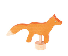 Grimms Birthday and Advent Ring Decoration Fox