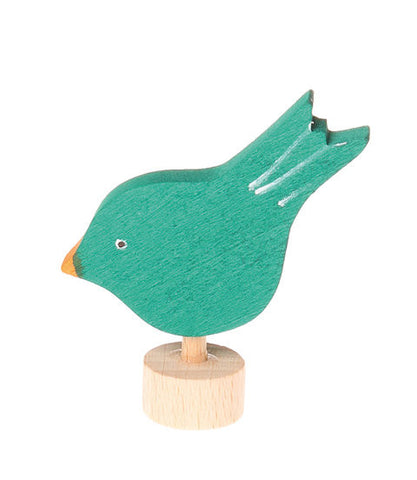 Grimms Birthday and Advent Ring Decoration Pecking Bird