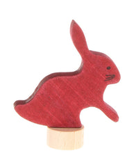 Grimms Birthday and Advent Ring Decoration - Rabbit 1, Dragonflytoys